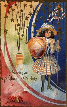 I love the look of vintage postcards.  I like to collect them and scatter them around the house as decorations for different holidays.