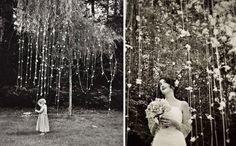 Backdrop ou Photoboot para casamento