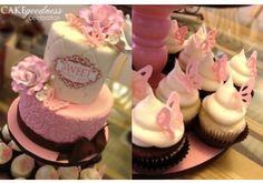 Baby Girl Shower Cake!