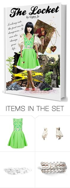 """""""Book Cover: The Locket"""" by gypsy-jo ❤ liked on Polyvore featuring art"""