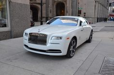 Used 2016 Rolls-Royce Wraith Stock # in Chicago, IL at Bentley Gold Coast, IL's premier pre-owned luxury car dealership. Come test drive a Rolls-Royce today! Rolls Royce 2017, 2 Door Rolls Royce, Rolls Royce Dawn, Wedding Car Hire, Br Style, Super Sport Cars, Car In The World, Bugatti Veyron, Vestidos