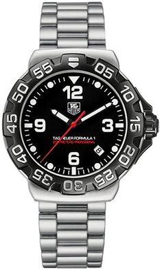 NEW TAG HEUER FORMULA 1 MENS QUARTZ WATCH WAH1110.BA0850 - http://www.autosportsart.com/new-tag-heuer-formula-1-mens-quartz-watch-wah1110-ba0850 - http://ecx.images-amazon.com/images/I/51z7s3aVbJL.jpg