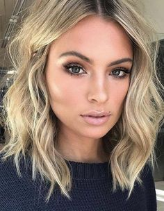 27 Long Bob Haircuts for Thick Hair To Get Inspired 2019 - Street Style Inspirat. - 27 Long Bob Haircuts for Thick Hair To Get Inspired 2019 – Street Style Inspiration 27 - New Short Haircuts, Short Hairstyles For Thick Hair, Haircut For Thick Hair, Long Hair Cuts, Wavy Lob Haircut, Long To Short Haircut, Fine Hair Haircuts, Long Bob Haircut With Layers, Pixie Haircuts