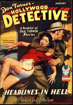 Hollywood Detective, Jan. 1943 - H.J. Ward