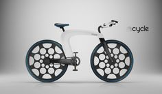 This bike needs to happen, built in battery that gets charged when you pedal. handlebars turn into a U-lock. Fit a mac book pro in the middle, comes with built in lights and speakers. gonna cost a lot though.