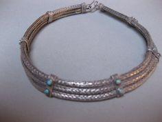 An Indian Silver Choker. Khaneikey.com