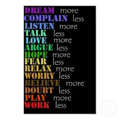 Love more. Argue less.