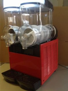 Slush Machine For Sale Frozen Slush Machine 2 X 12 LITRE TANKS (READY TO DRINK) TWIN TIMERS SO EACH SIDE CAN BE CONTROLLED INDIVIDUALLY COMMERCIAL USE RECOMMENDED