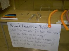 Sound Discovery Table