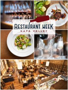 Mark Your Calendars For Napa Valley Restaurant Week January 24 31 2016