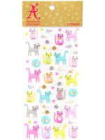 cat foam stickers! (i have this! :p)