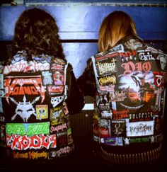 I need a big Overkill Patch! Heavy Metal Rock, Black Metal, Punk Jackets, Biker Jackets, Leather Jackets, Pride And Glory, Punk Patches, Full Metal Jacket, Battle Jacket