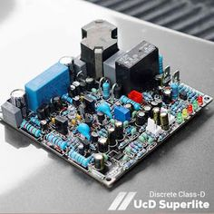 UcD Superlite was designed by Indonesian audio experts, Mr. Kartino Surodipo, who is also the admin in the Class-D Next-generation amplifier Indonesia group. Class D Amplifier, Electronics Projects, Electronic Circuit, Clarity, Bridge, Audio, Layout, Group, Places