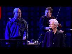 """David Byrne sings """"(Nothing But) Flowers"""" - Happy Birthday David Byrne, love his freaky genius creativity!"""