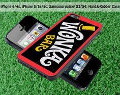 Chocolate Wonka Bar for iPhone 4 / 4S iPhone 5S by FASTYCorner, $13.00