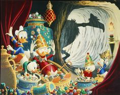 Donald Duck and Uncle Scrooge - The Caves of Ali Baba by Carl Barks