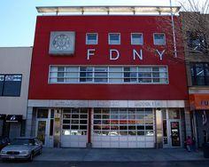 E201 FDNY Firehouse Engine 201, Ladder 114 & Battalion 40, Bay Ridge/Sunset Park, Brooklyn, New York City