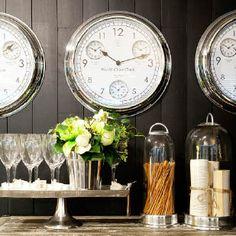 Rivièra Maison 'World Cities Clock' www.bellisimo.nu >>Webshop