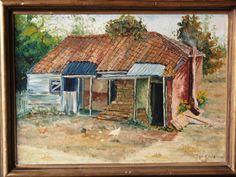 mi 1era. pintura...... casita de campo