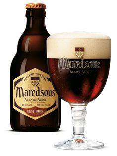 El prestigio de la cerveza belga no tiene igual. Pueden buscar ya Maredsous en sus tres variedades: Brune, Tripel, Blonde.