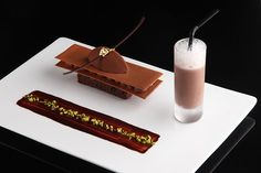 This looks amazingly good. It is a picture of one of the courses in Vertig'O, Michelin star restaurant in Geneva, Switzerland, spring menu.