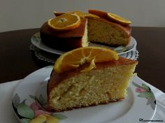 torta all'arancia senza latte olio e burro
