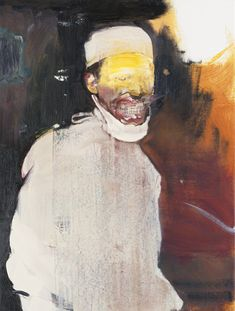 Adrian Ghenie B. 1977 DOCTOR JOSEF 2 signed and dated 2011 on the reverse oil on canvas 33 1/2 by 25 3/8 in. 85.1 by 64.5 cm.