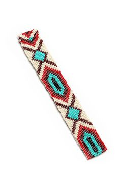 Aztec Beaded Headband