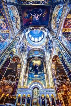St. Volodymyr's Cathedral, Kyiv, Ukraine . Ethereal . by isabel