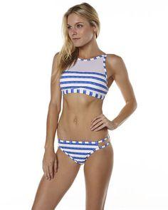 Discover Bikinis, One Pieces, Rashvests and more Women's Swimwear at SurfStitch. Bikini Swimwear, Bikinis, Womens Tankini, Surf Outfit, Swimwear Brands, Blue Bikini, Fashion Labels, Camilla, Fashion Outfits