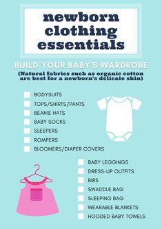 Expecting a baby? Wondering what clothing essentials you need for your newborn baby? This printable checklist of baby wardrobe essentials will help you decide which baby clothes you'll want to stock up on. #newborn #babyessentials #printables Newborn Clothes Checklist, Baby Checklist, Baby Leggings, Dresses With Leggings, Baby Towel, Wearable Blanket, Diaper Covers, Expecting Baby, Baby Outfits Newborn