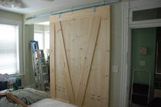 How to make your own barn door
