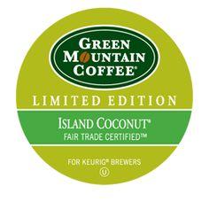 Green Mountain Coffee®  Island Coconut® Coffee