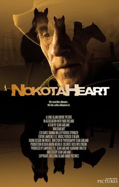 """""""NokotaHeart is the true story of Leo Kuntz, Vietnam vet turned North Dakota horse rancher and his fight to save the equine legacy of Sitting Bull.  Watch it now on HorseLifestyle.TV"""