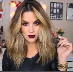 Nicole Guerriero - hair length & style inspiration!