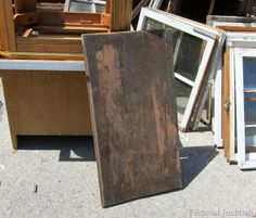 Two Reclaimed Junk Parts