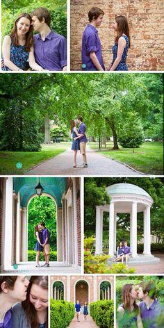 UNC Chapel Hill Engagement Wedding Photo McKenzie Myers Photography