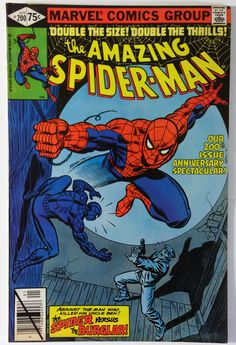 Amazing Spider-Man #200 Double Size Anniversary / Origin Retold FN+ - Marvel Comics 1980 Bronze Age