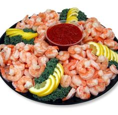 Shrimp Platter   shrimp platter from  our delicious cocktail shrimp platter #seafood #food ...