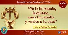 MISIONEROS DE LA PALABRA DIVINA: EVANGELIO - SAN LUCAS 5,17-26