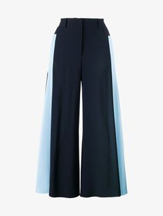 PETER PILOTTO Stripe Side Flared Trousers. #peterpilotto #cloth #
