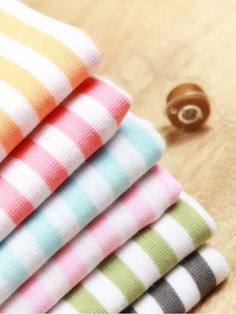 Striped Knit Fabric