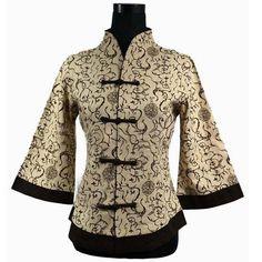 Beige Chinese Women Cotton Linen Shirt Handmade Button Blouse Traditional Tang Suit Top Oversize S M L XL XXL XXXL 4XL 5XL 2218(China (Mainland))