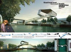 Resultado Concurso: Ponte para Pedestres em Amsterdã,Menção Honrosa 6