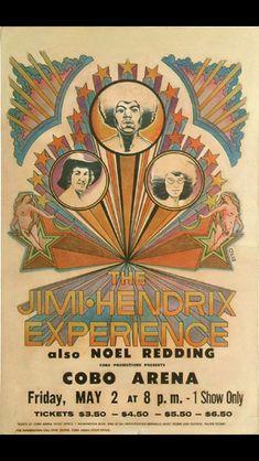 47 Super Ideas For Music Festival Poster Vintage Jimi Hendrix Musikfestival Poster, Retro Poster, Kunst Poster, Poster Vintage, Rock Posters, Band Posters, Music Artwork, Art Music, Rock Roll