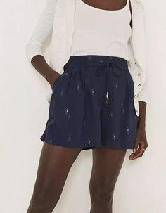 Flippy Foil Print Shorts, Shorts | FatFace.com Fat Face, Fashion Gallery, Next Uk, Uk Online, Printed Shorts, Short Dresses, Mini Skirts, Blue, Clothes