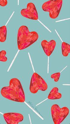 Heart Wallpaper, Iphone Background Wallpaper, Iphone Wallpaper, Pattern, Prints, Design, Screens, Exo, Cases