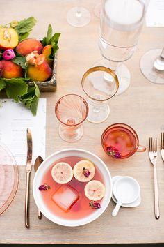 A Dreamy Outdoor Dinner | theglitterguide.com