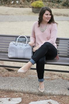 Blush Tunic and a Throwback Shoe!