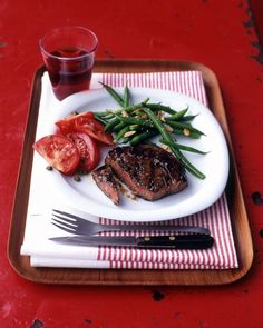 EASY GRILLING RECIPES FROM EVERYDAY FOOD: Rib Eye with Garlic-Thyme Marinade